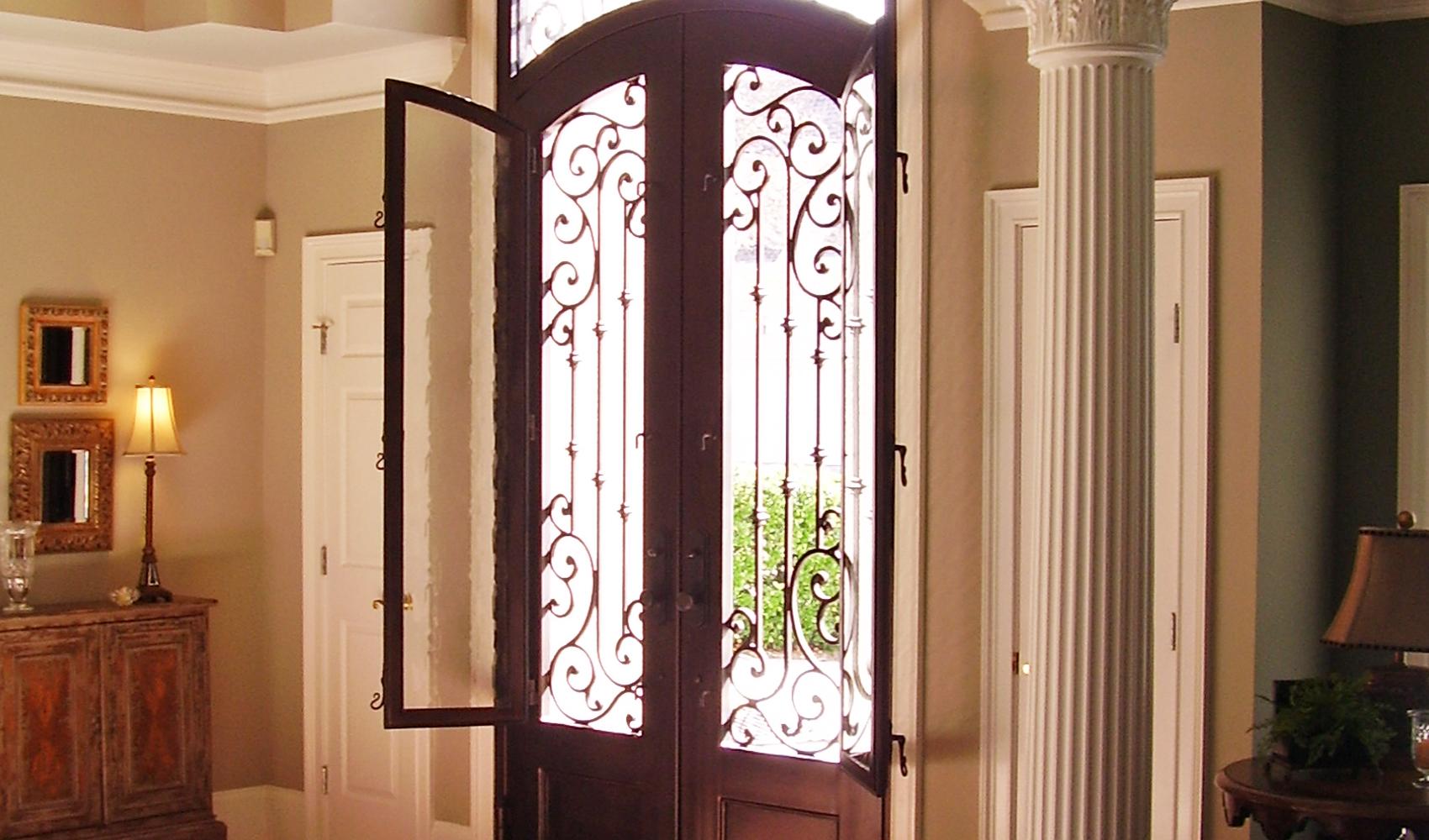Arkansas Custom Iron Doors